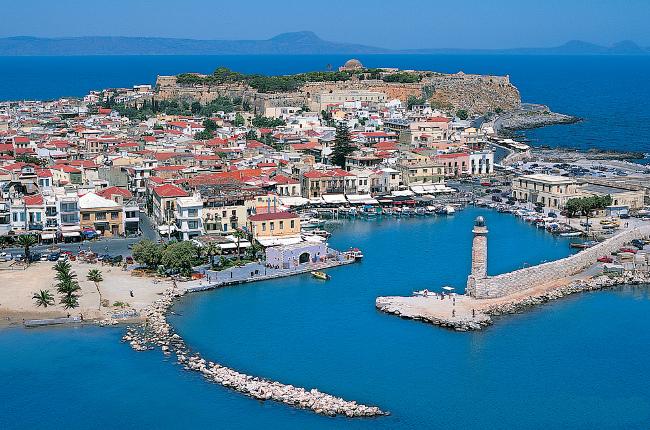 Rethymno a Creta, Grecia.