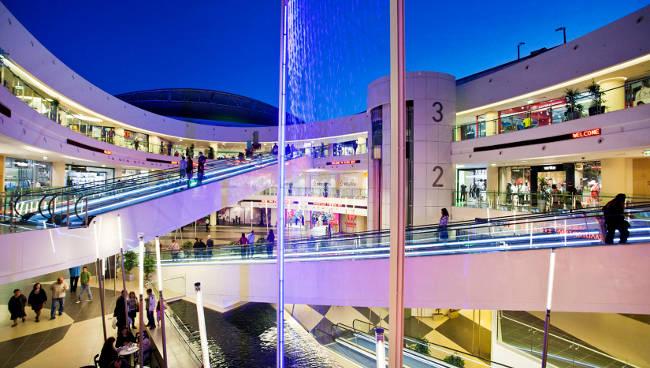 Il centro commerciale River West ad Atene.