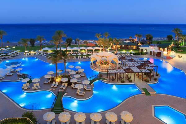 Hotel sul mare a Rodi, Rodos Palladium.