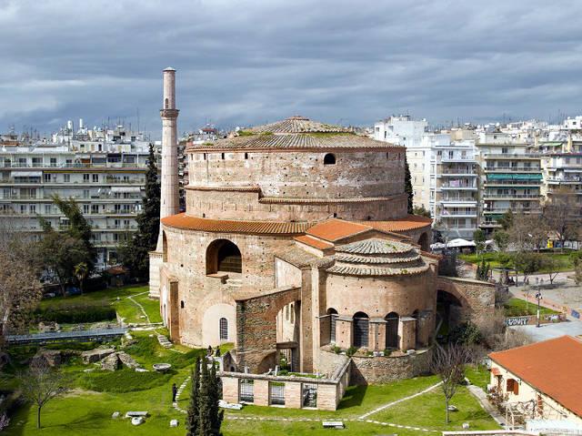 La rotonda o tomba di Galerio a Salonicco.