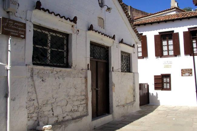 La casa-museo di Alexandros Papadiamantis a Skiathos.