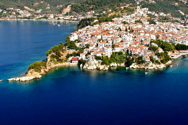 L'isola greca di Skiathos.
