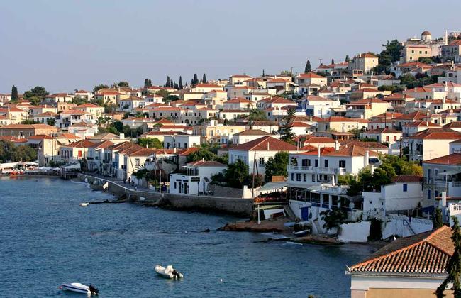 Isola greca di Spetses.