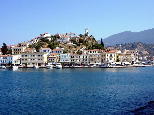 Spetses in Grecia.