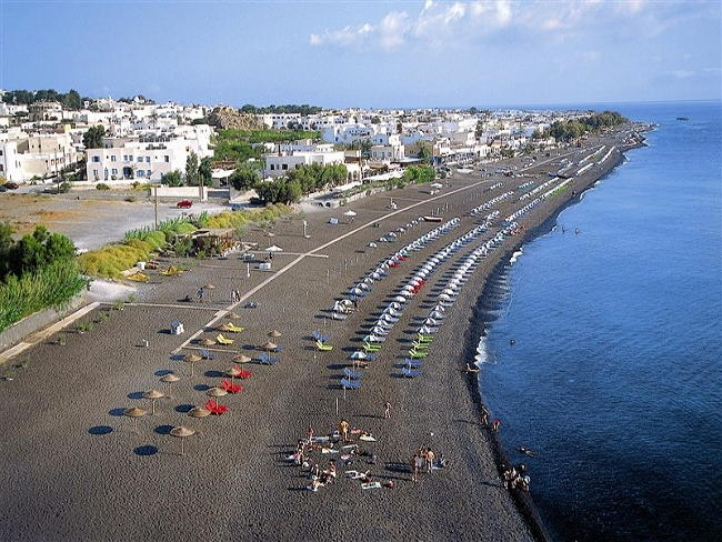 Spiaggia di Kamari, Santorini.