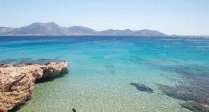 Platia Pounta, bellissima spiaggia di Koufonisia.