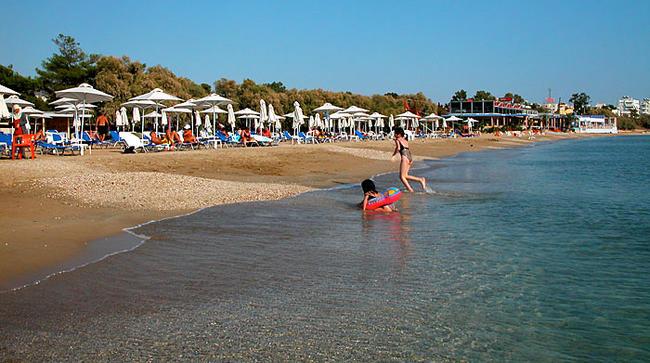 Voula, spiaggia ad Atene.