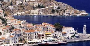 Symi in Grecia.