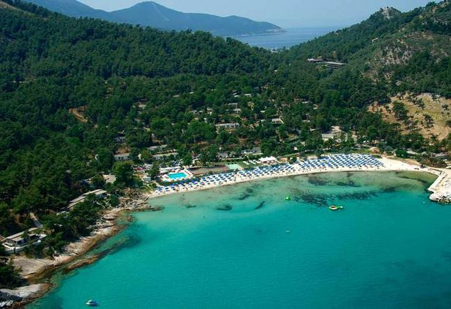 L'isola greca di Thassos, Grecia.