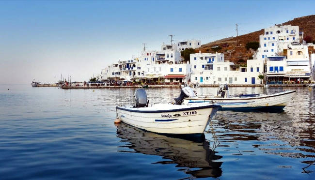 L'isola di Tinos in Grecia.
