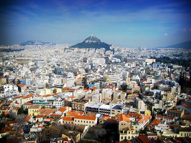 Turismo ad Atene.