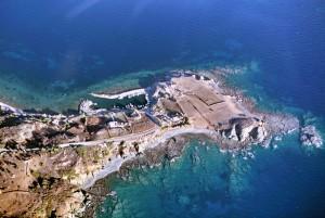 Vatera in Grecia.