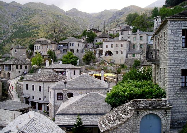 I villaggi di Zagoria in Grecia.